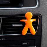 Fresh Air Friends Cesare vôňa do auta 1 ks, Biela Fresh Air
