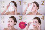 KinGirls Face Mask maska 1 ks, 3D maska s extraktom z hľuzovky a kakaového masla