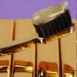 Swiss Smile d'Or kazeta, zubná pasta 75 ml + zubná kefka Gold