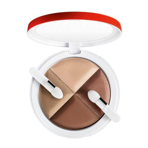 Collistar 4 Eye Shadow Palette očný tieň 10 g, 1 Caffe Freddo