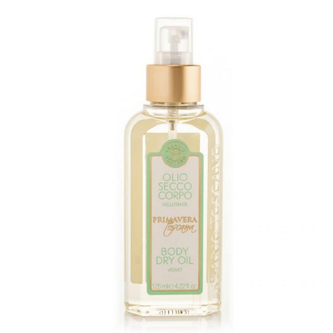 Erbario Toscano Tuscan Spring telový olej 125 ml, Body Dry Oil Velvet