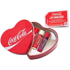 Lip Smacker Coca Cola kazeta, Heart Box 3ks
