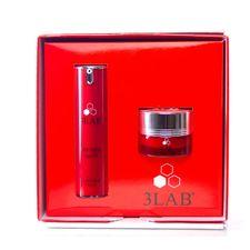 3LAB Anti-Aging kazeta, očný krém 15 ml + pleťový krém 15 ml