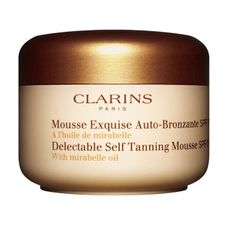 Clarins Mousse Exquise samoopaľovací prípravok 125 ml, Delectable Self Tanning Mousse SPF15