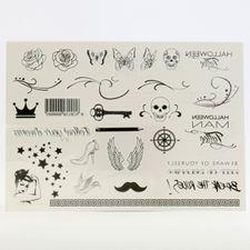 Darček Halloween tetovačka