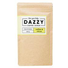 Dazzy Coffee Scrub peeling 200 g, Citrus