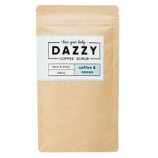 Dazzy Coffee Scrub peeling 200 g, Coconut