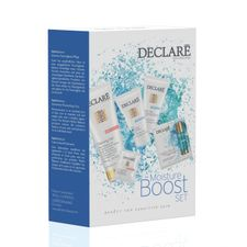 Declare Hydro Balance kazeta, Ocean s Best 25 ml + Mask 25 ml + Cleansing Gel 100 ml + Hydro Duo Care Fluid 2x1,5 ml + Cleansing Powd