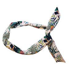 Elle Ornaments doplnkový tovar 1 ks, Headband Knoted Printed Escapade Exotique