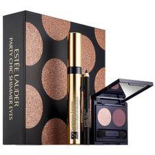 Estee Lauder Sumptuous Extreme kazeta, maskara Extreme Black + očný tieň Pure Color Envy Magnetic Rose & Vain Violet + ceruzka Double Wear