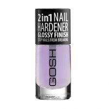 Gosh 2in1 Nail Hardener Glossy Finish lak 8 ml, lak pre spevnenie nechtov 2v1