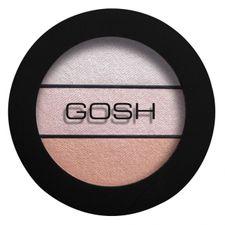 Gosh Eyelight Trio očný tieň 3.5 g, 003 Chunky Chocolate
