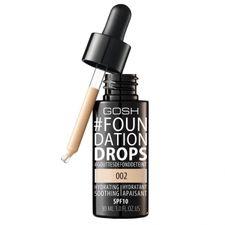 Gosh Foundation Drops make-up 30 ml, 002 Ivory