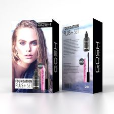 Gosh Foundation Plus+ kazeta, 004 + Catchy Eyes Mascara