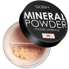 Gosh Mineral Powder púder 8 g, 002 Ivory