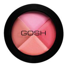 Gosh Multicolour Blush farba na líčka, 50 Pink Pie