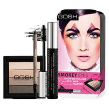 Gosh Smokey Eyes Palette kazeta, Eye Liner + Palette + Mascara