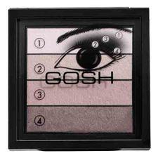 Gosh Smokey Eyes Palette očný tieň 8 g, 02 Brown