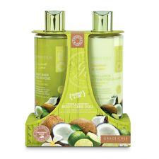 Grace Cole Coconut & Lime kazeta, SG 500 ml + TM 500 ml