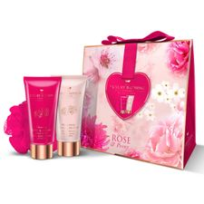Grace Cole Grace Cole kazeta, Pretty in Pink SG 100 ml + telový krém 100 ml + hubka na telo