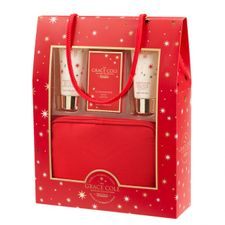 Grace Cole Grace Cole kazeta, Wild Fig & Cranberry- SG 50 ml + TM 50 ml + mydlo 100g + kozmetická taštička