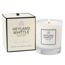 Heyland & Whittle Glass sviečka 230 g, Citrus & Lavender