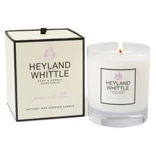 Heyland & Whittle Glass sviečka 230 g, Jasmine & Lilac
