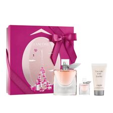 Lancome La Vie Est Belle Eau de Parfum kazeta, EdP 50 ml + EdP 4ml + TM 50 ml