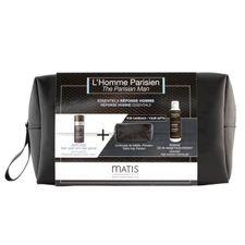 Matis Reponse Homme Line kazeta, protivráskový pleťový krém 50 ml + gél na holenie 150 ml + kozmetická taška