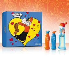 Moschino I Love Love kazeta, EdT 30 ml + TM 25 ml + SG 25 ml