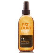 Piz Buin Wet Skin opaľovací prípravok 150 ml, Transparent Spray SPF 15