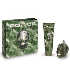 Police To Be Camouflage kazeta, EdT 75 ml + sprchový šampón 100 ml v kovovej krabici