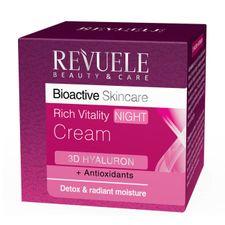 Revuele 3D Hyaluron nočný krém 50 ml, Rich Vitality Night Cream