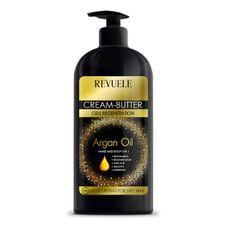 Revuele Argan Oil hydratačný krém 400 ml, Cream-Butter Hand&Body 5in1