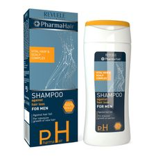 Revuele Pharma Hair šampón 200 ml, Shampoo for Men against Hair Loss