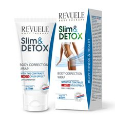 Revuele Slim & Detox zoštihľujúci gél 200 ml, Correcting Body Wrap