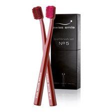 Swiss Smile Toothbrush Set zubná kefka 1 ks, 2x zubná kefka