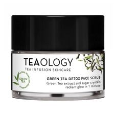 Teaology Green Tea peeling 50 ml, Detox Face Scrub