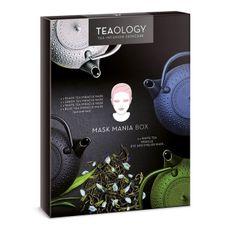 Teaology White Tea kazeta, pleťová maska 4x mix