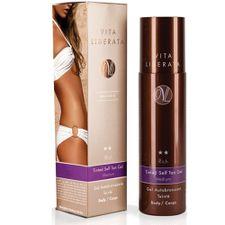 Vita Liberata Rich Silken Chocolate samoopaľovací prípravok 200 ml, Body Tinted Self Tan Gel Medium