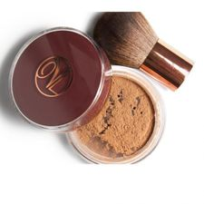 Vita Liberata Trystal Minerals púder 9 g, Tanning bronzing powder NO 1 + Kabuki brush