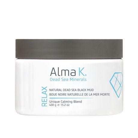 Alma K Body Care bahno na telo 430 g, Natural Black Mud