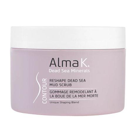 Alma K Contour telový peeling 250 ml, Reshape Dead Sea Mud Scrub