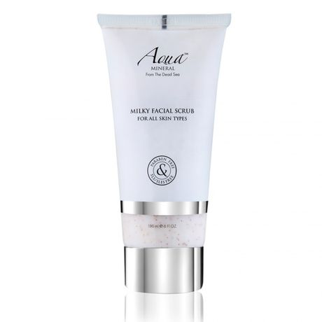 Aqua MINERAL Basic Facial Care čistiaci peeling 180 ml, Milky Facial Scub