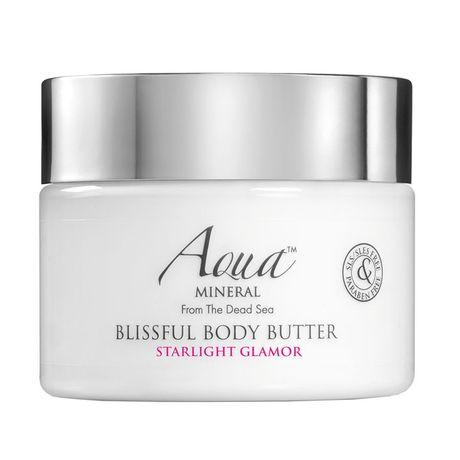 Aqua MINERAL Blissful Body Butter telový krém 350 ml, Starlight Glamor