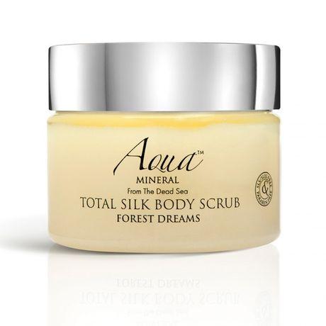 Aqua MINERAL Body Care telový peeling 475 g, Total Silk Body Scrub Forest Dreams
