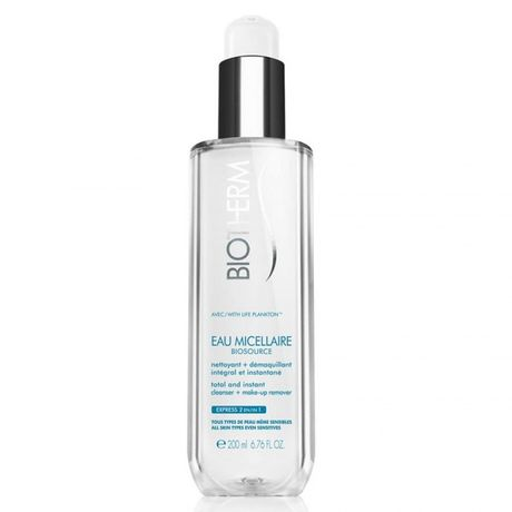 Biotherm Biosource čistiaca voda 200 ml, Eau Micellaire Total and Instant Cleanser Make-up Remover for All Skin Types