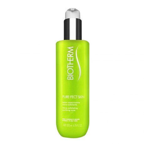 Biotherm PureFect Skin čistiaca voda 200 ml, Micro Exfolianting Toner Pump