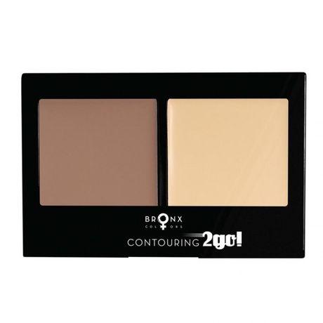 Bronx Colors Contouring 2Go multilíčidlo 8 g, Caramel / Shimmer Beige