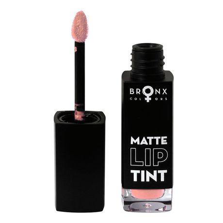 Bronx Colors Matte Lip Tint rúž 5 ml, Beige Pink